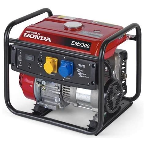 honda em2300 generator 2 3kw with avr new upgraded 2017