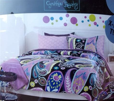 cynthia rowley bedding cynthia rowley comforter twin xl 9 piece complete college