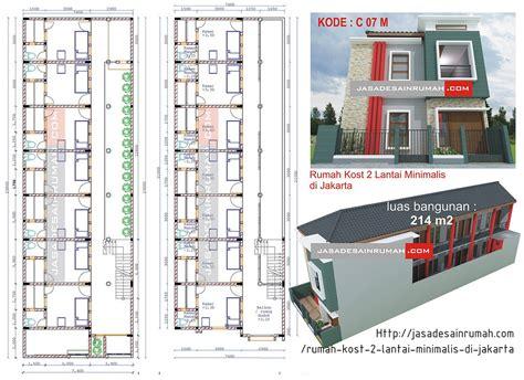 desain rumah kost mahasiswa  karyawan tren  tabloid rumah idaman