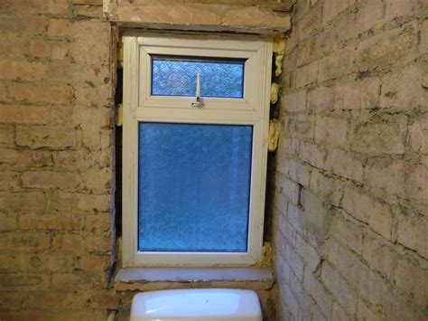 bathroom upvc windows new upvc window supplied and fitted in bathroom 25x40