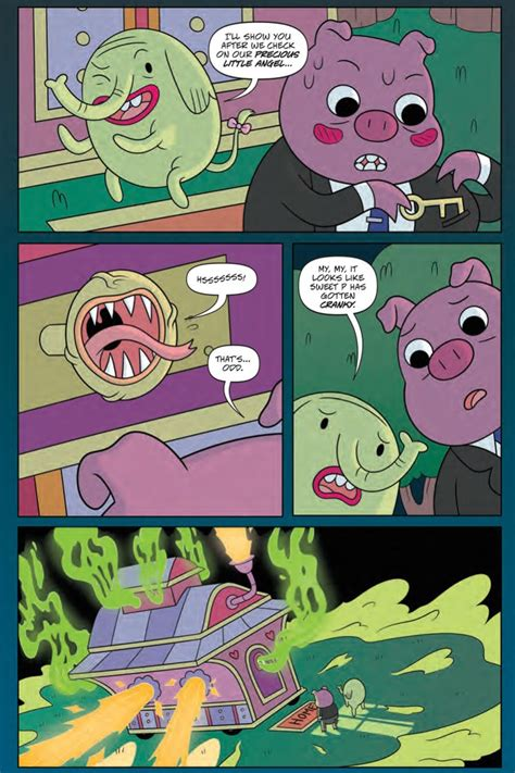 Adventure Time Volume 9 comiclist preview adventure time volume 9 brain robbers gn