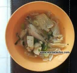 Kompor Inova resep mudah praktis sup ayam kembang tahu resep inova melisa