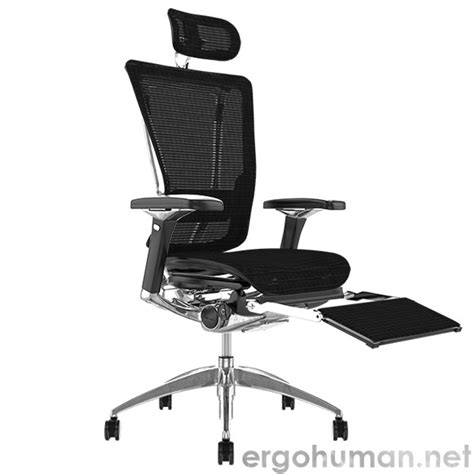desk chair with leg rest nefil mesh office chair with leg rest and headrest and