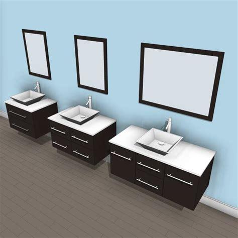 Revit Bathroom Vanity by Virtu Marsala Single Bathroom Vanity Set With Mirror