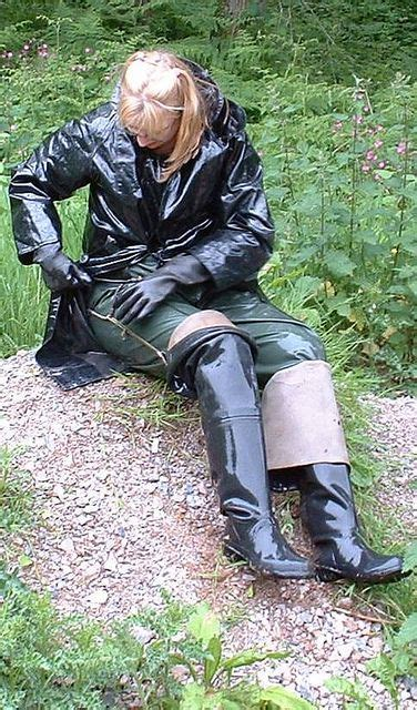 Jo In Raincoat M 1587 best rubber boots images on gear