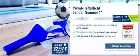 haftpflichtversicherung ab wann privathaftpflicht ab 25 53 15 de gutschein
