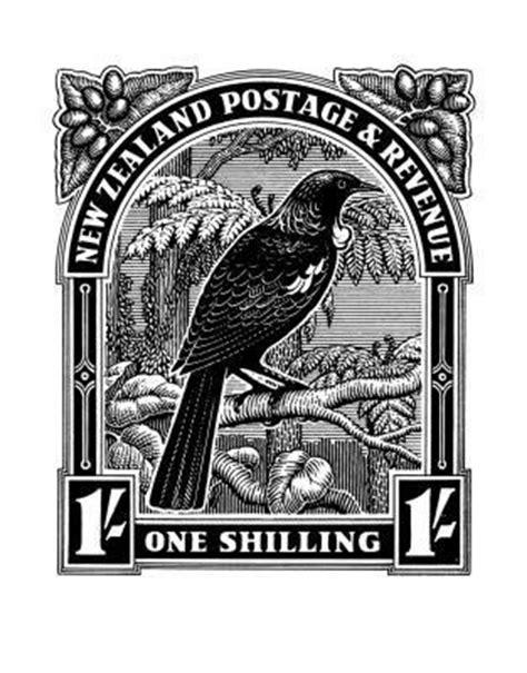 Historical NZ Stamp Print - Tui: New Zealand Fine Prints