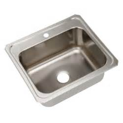 stainless steel sinks at home depot elkay drop in stainless steel 25 in 1