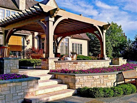 ideas for backyard patios architectural design pergola and patio cover ideas landscaping network