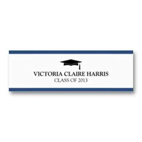 name card templates for graduation announcements name cards for graduation announcements on pinterest