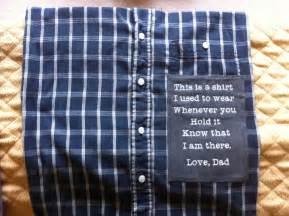memory keepsake pillowcase made from shirts or clothing of