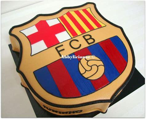barcelona cake fc barcelona logo cake focis tort 225 k pinterest fc