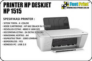 Printer Hp Deskjet 1515 jual printer hp deskjet hp 1515