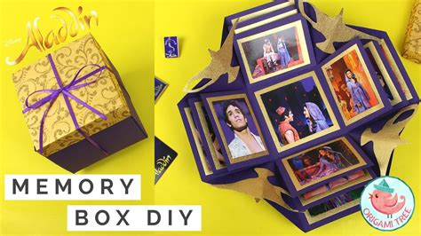 Make An Explosion Box Paper Craft Exploding  Ee  Gift Ee