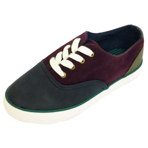 sport shoes for flat boys flat pumps plimsole lace up