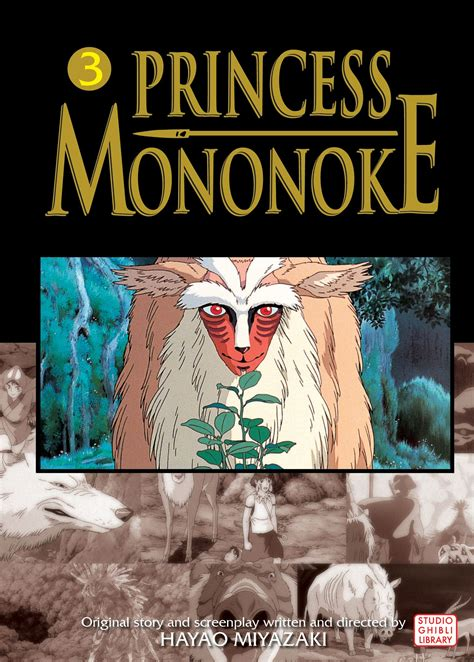 Ponyo Comic Vol 2 princess mononoke comic vol 3 book by hayao
