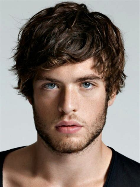 Mens Hairstyles For Oblong Faces   Male Models Picture