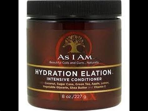 natural hair    hydration elation review youtube