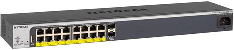 Switch Netgear Gs418tpp netgear gs418tpp switch 16 port gigabit ethernet poe