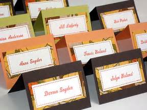 place cards and how to include guests entree choice