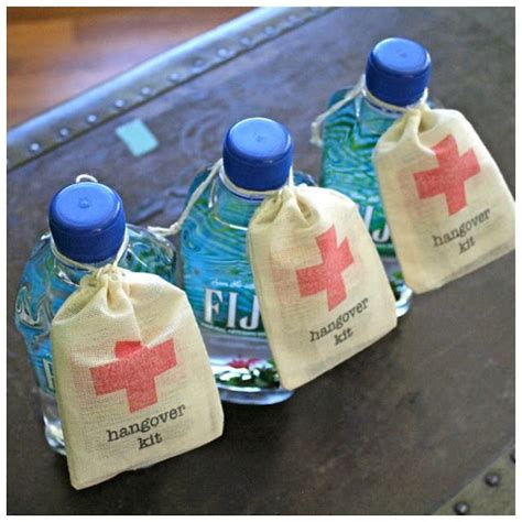 Good Ideas For Giveaways - good ideas for wedding favors best 25 hangover kit wedding ideas on pinterest wedding