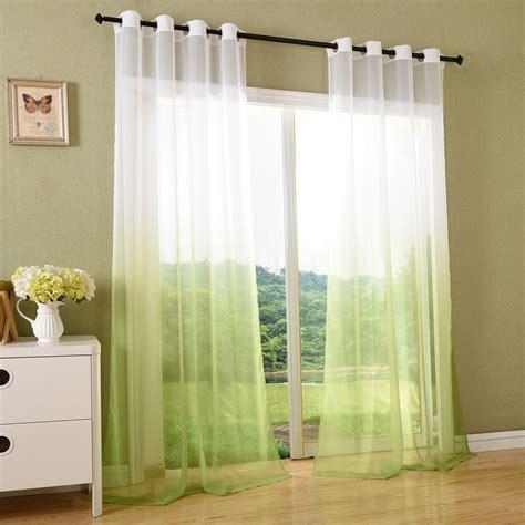 vorhang durchsichtig vorhang transparent schal 214 sen gardine voile farbverlauf