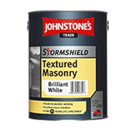 smooth or textured masonry paint johnstones stormshield textured or smooth masonry paint