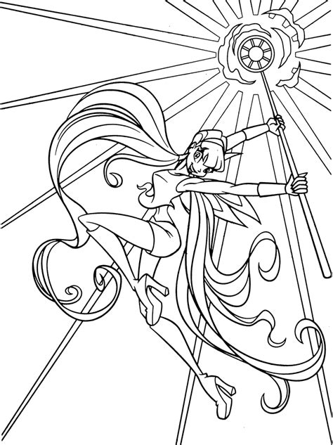 coloring pages for winx club free coloring pages of winx