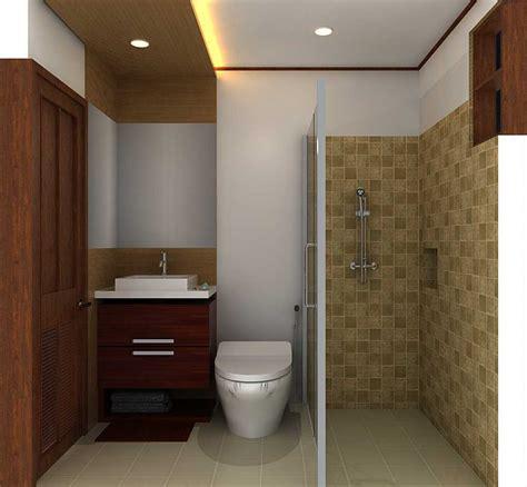 keramik  cocok  kamar mandi kecil mewah