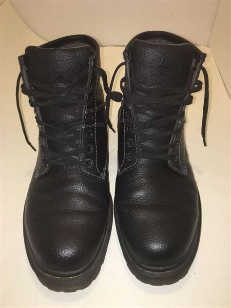 black leather combat boots for dr martens roseland black leather combat boots mens size