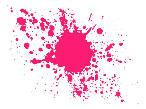 pink paint pink paint splat clipart best