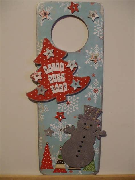 Handmade Door Decorations - door hanger decoration ideas family