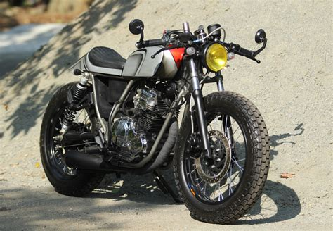 Er Bensin Murah By Damar Garage modifikasi cafe racer yamaha scorpio damar custom garage 2