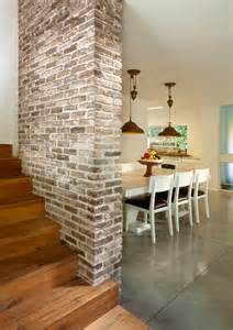 Rustic Cottage Kitchen Ideas - 5 modern brick accent wall ideas for a home