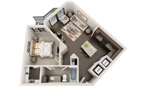 3d apartment best 3d floor plans tours for apartments