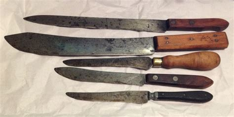 american kitchen knives antique cooking knives colonial america pinterest