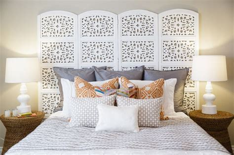Folding Screen As Headboard H Pinterest