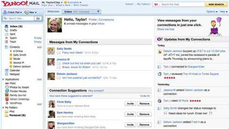 mail yahoo business yahoo mail gets more social but the price of admission is