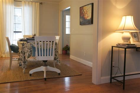 Painting Chair Rail Same Color As Wall by Building A Buffet The Lucky Homestead