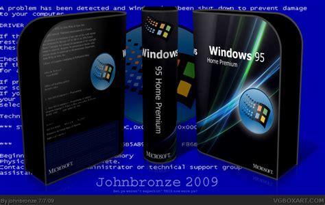 box windows 95 windows 95 home premium pc box cover by johnbronze