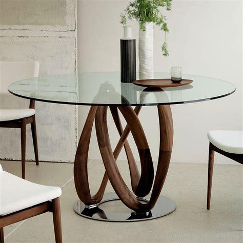 tavolo porada porada infinity glass dining table