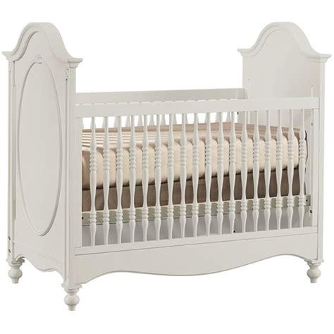 Vintage White Crib by White Antique Crib Stellas Nursery Concepts
