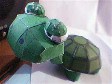 Papercraft Turtle - lazy turtle papercraft paperkraft net free papercraft