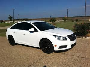 Chevrolet Cruze Rims Chevy Cruze White With Black Rims Search Cars