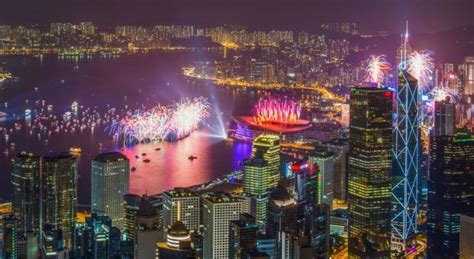 new year fireworks hong kong time how are nye fireworks 2018 in hong kong