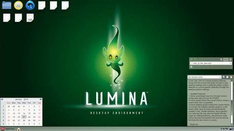 pc bsd themes pc bsd releases updated lumina desktop environment phoronix