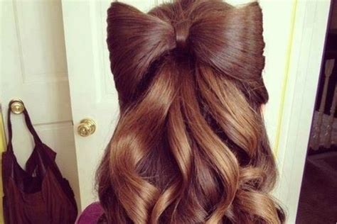 Bow Hairstyles by 25 Hair Bow Hairstyles For Sheideas