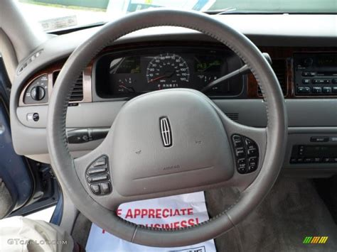 lincoln town car steering wheel 2000 lincoln town car signature light parchment steering