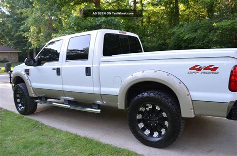 Ford 4 Door Truck by 2008 Ford F 250 Duty Lariat Crew Cab 4 Door 6 4l