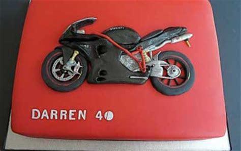 motosiklet temali pastalar